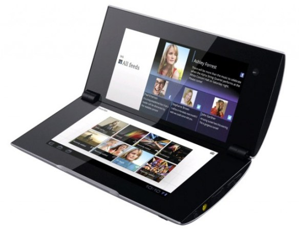 Sony-Tablet-P-640x492 Previewing the Sony Tablet S and Tablet P with Honeycomb