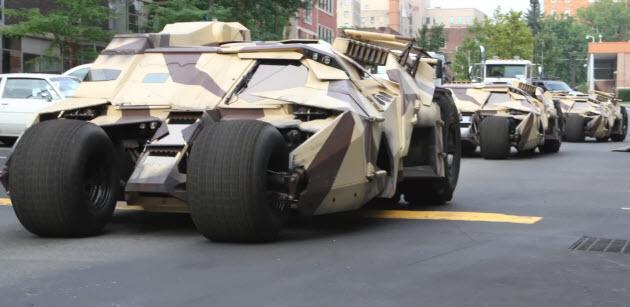 batman-the-dark-night-rises-tumblrs The Dark Night Rises Batmobile tumblers spied in Pittsburgh