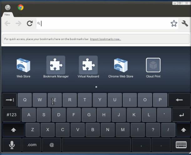 chromeostablet Leaked video demos tablet device running Chromium OS?