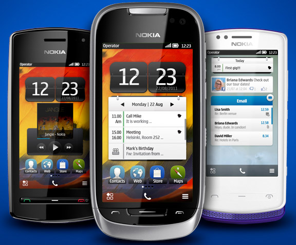 nokia-symbian-belle Three new Nokia phones with Symbian Belle operating system unveiled