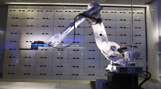 yotel Yotel hotels have world's first robotic luggage handler