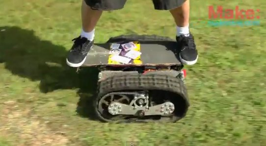 motorized-skateboard MIT motorized skateboard powered by remote control