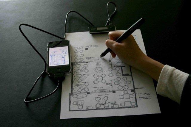 09-APEN-A4-Digital-Pen APEN A4 for iOS Unveiled: Makes Your Scribbles Digital