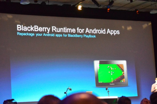 bbdevcon-androidruntime-640x423 RIM's New BBX Operating System Marries BlackBerry With QNX