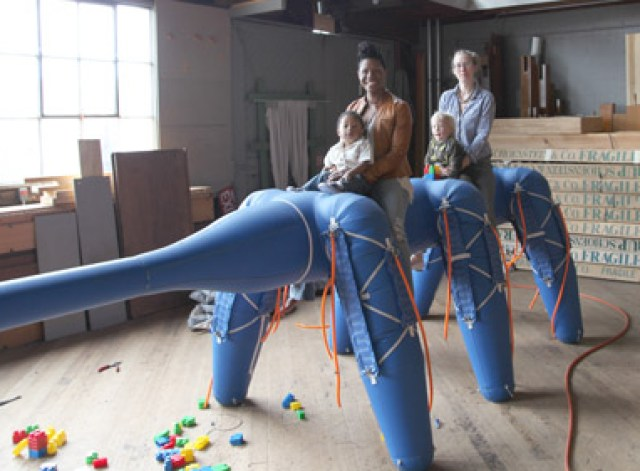 antroach Otherlab Develops Inflatable Robot You Can Ride