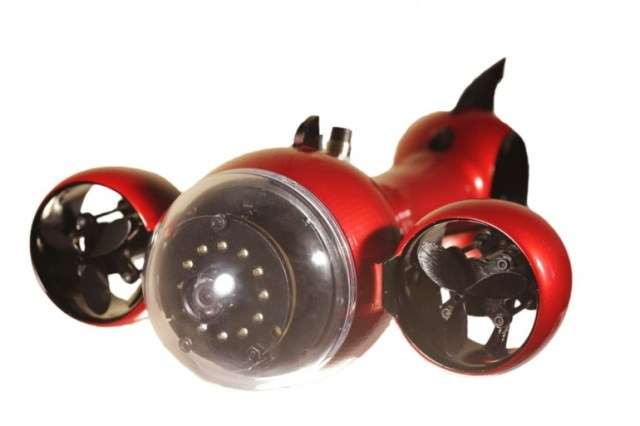 aquabotix-hydroview Aquabotix Hydroview Wired Sub Swims 5 Knots, Has 1080p Camera