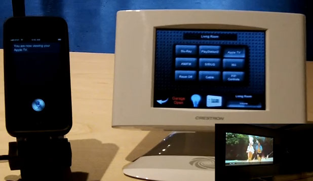 crestron-siri Siri And Crestron Means Softly Spoken Home Automation