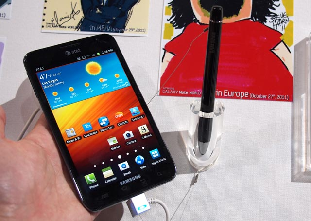 galaxynote-3 CES: Hands-On With Samsung's 5.3-inch Galaxy Note