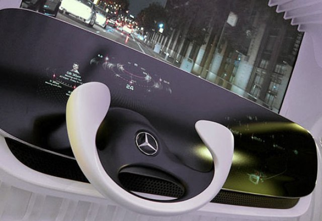 mbenz Mercedes-Benz Demonstrates Gesture Control System