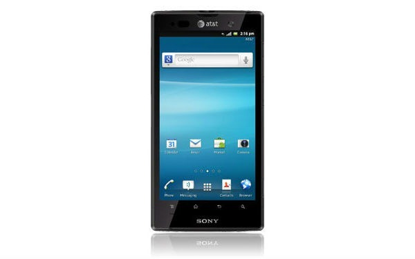 sony-xperia-ion AT&T LTE Lineup Includes Samsung Galaxy Note, HTC Titan 2, Nokia Lumia 900 And More