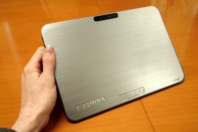 toshiba-android-tablet-640x426 Toshiba Excite X10: World's Thinnest 10-Inch Android Tablet