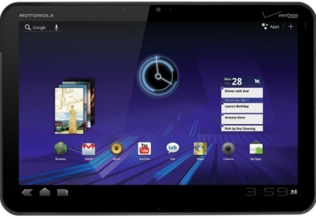 xoom Select Motorola Xoom Owners Get ICS