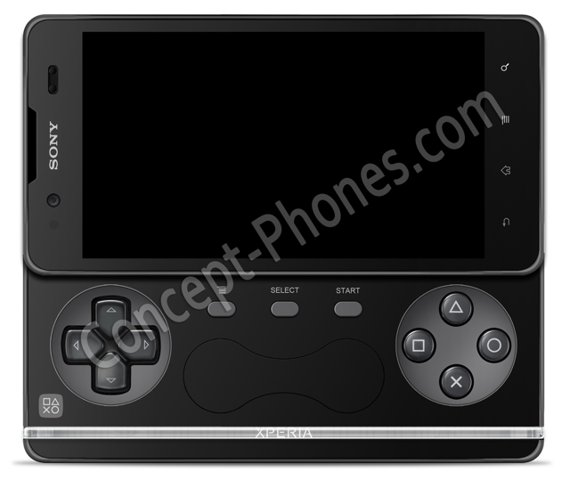120224-xperia Leaked Image of Sony Xperia Play 2 Android PlayStation Smartphone