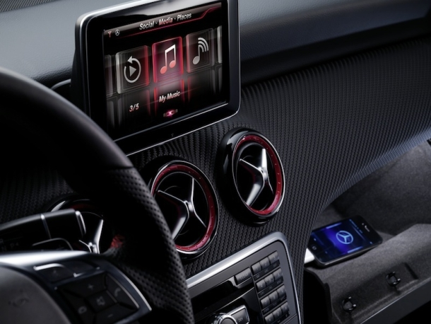 m Mercedes-Benz Integrates SIRI Into A-Class Models