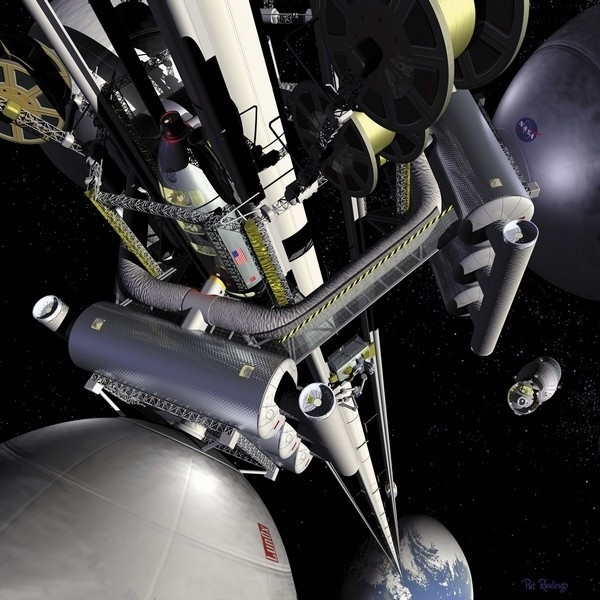 space-elevator Space Elevator Concept From Japan