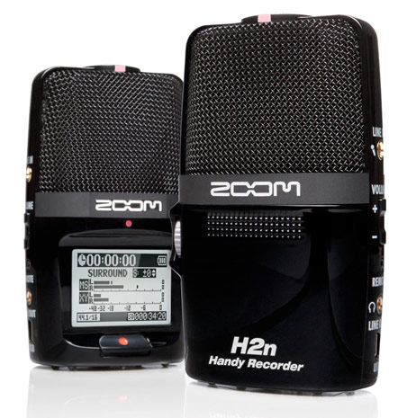 h2n Zoom H2N Recorder Offers Superior Sound Recording