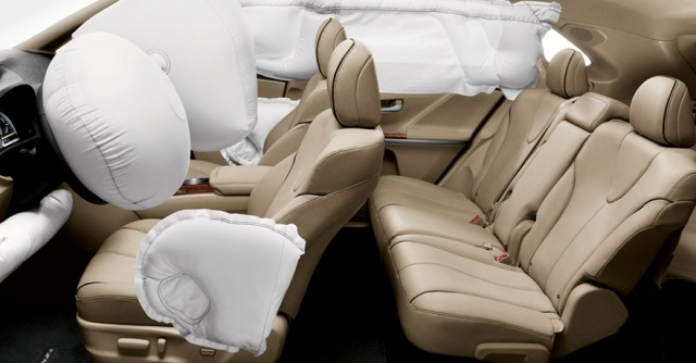 toyota-venza-interior-ivory-deployed-airbags-640x334 Toyota Recall to Replace Faulty Parts In Tacoma, Camry And Venza