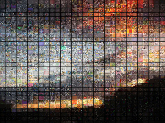 photomosaic 360,000 iPhone Photos Will Come Together To Create Unique Mosaic