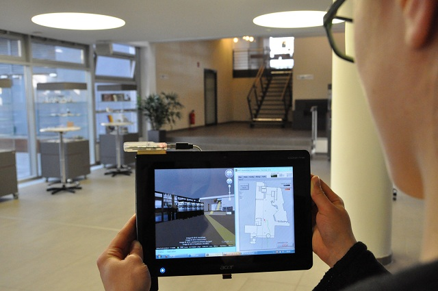 indoor-sensor Indoor Sensor Allows Navigation Inside Buildings