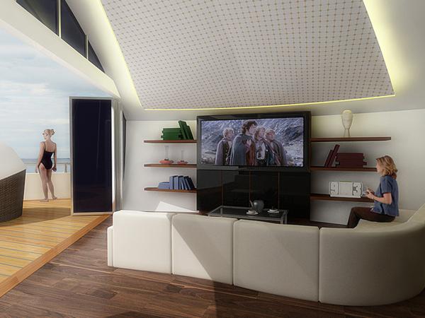 120601-solar5 The Solar-Powered Self-Sustaining Floating Island Resort Concept