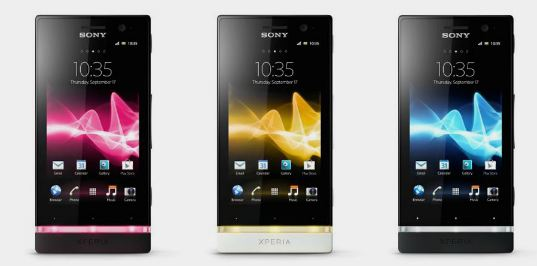 120716-sony1 Sony Xperia S, P and U Smartphones Coming to America