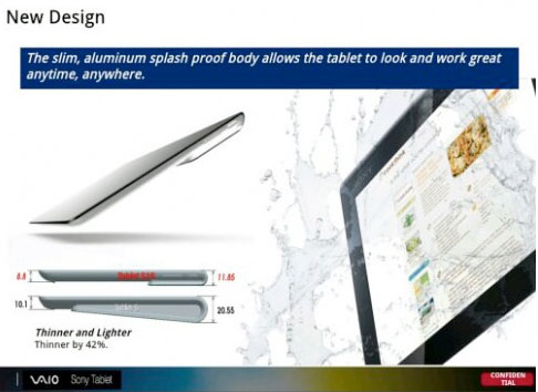 Sonyxperiatablet21 Leaked: New Sony Xperia Tablet With MS Surface-Style Keyboard