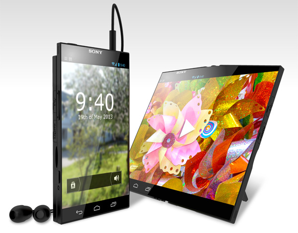 120816-sony1 Sony Pocket Tablet Concept Uses Flexible OLED