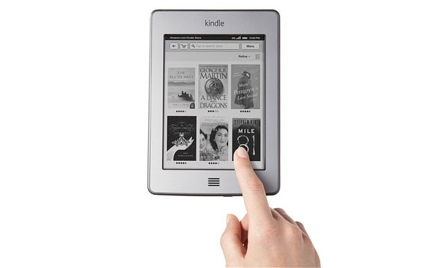 touchk U.S. Government puts Kindle deal on hold