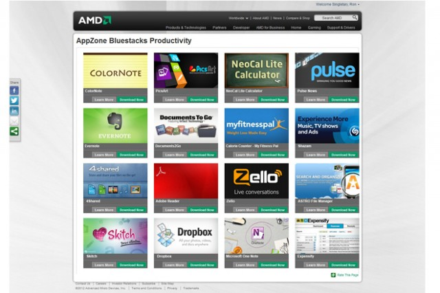 amdapp-640x426 AMD partnering with BlueStacks to bring 500,000 Android apps to Windows 8