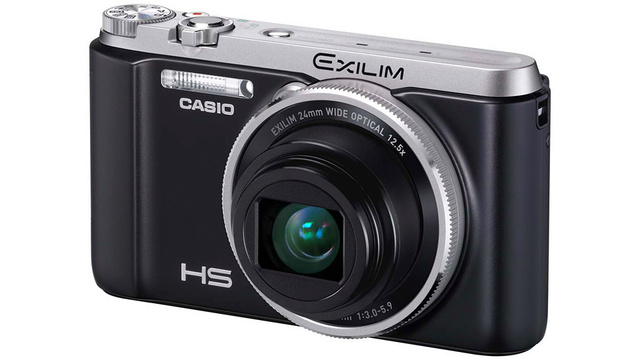 casioexilim Casio Exilim Offers Kickstand and Motion-Sensing Picture Taking