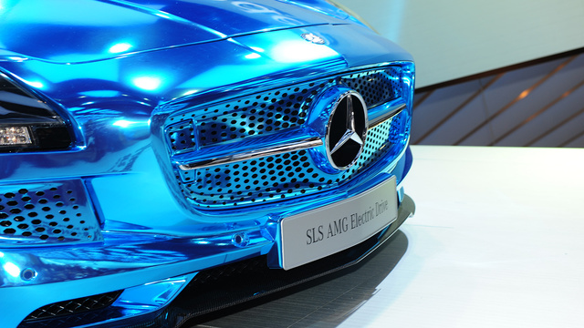 e3 Mercedes-Benz SLS AMG Electric Drive Coming In June 2013