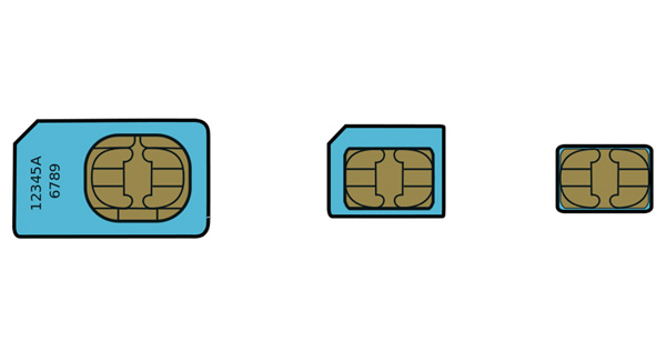 sim-nanosim  First Look at iPhone 5 nanoSIM Cards