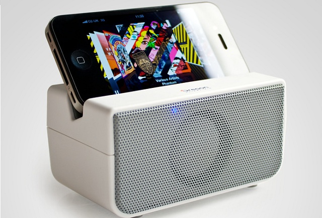 NFC-speaker Boombero Near Field Speakers have a Retro Styling, Cost Just $72.29