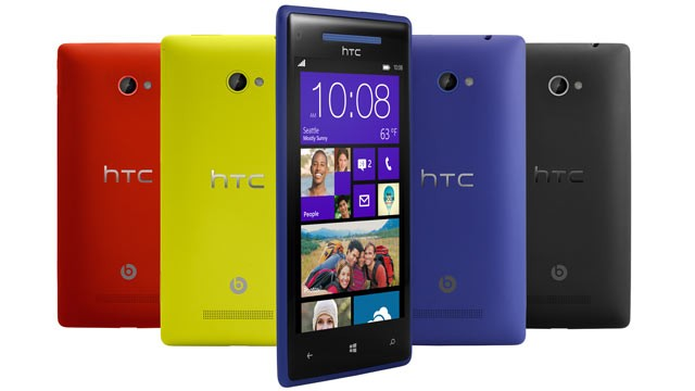 htc-phone8x Windows Phone 8's NFC Features Will Allow Limited Cross-Platform Communication with Android