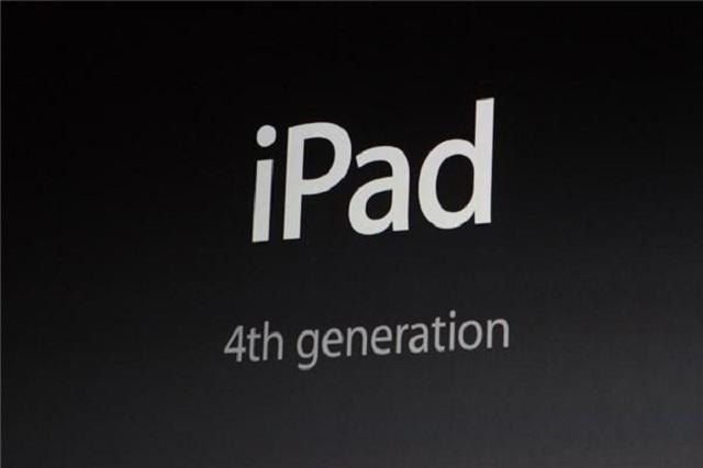 ipad4 Apple Announces the 4th Generation iPad