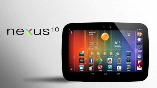 nexus-10-640x359 Rumor: The Nexus 10's Display May Outshine iPad's Retina