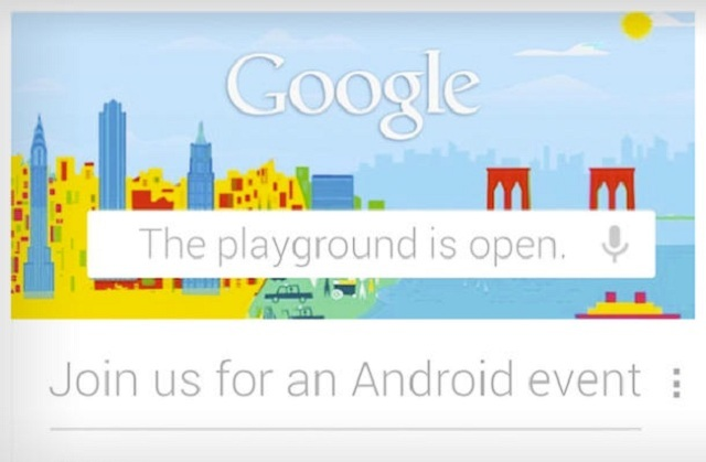 playground-google Google's Big October 29th Product Event: Nexus 4, Nexus 10 and More