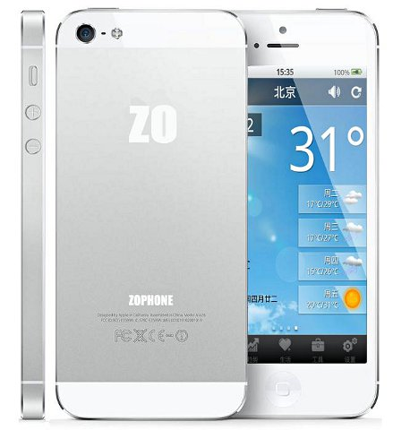 ZoPhone-I5 iPhone 5 Clone for $200