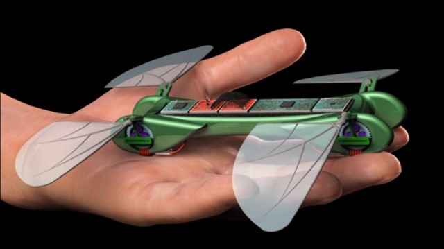 dragonfly-microuav-640x359 Dragonfly Robotic Insect UAV is Freaking Cool