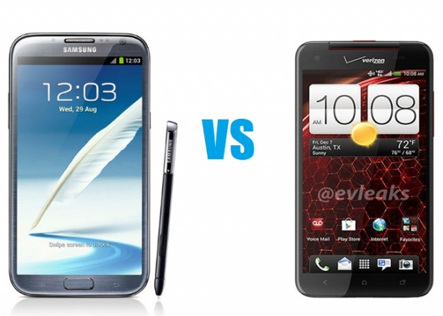 note2-vs-htc-640x457 HTC Droid DNA versus Samsung Galaxy Note 2