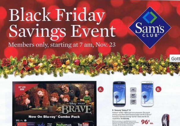 sams-club Sam's Club offers up the Samsung Galaxy S3 for just 96 cents
