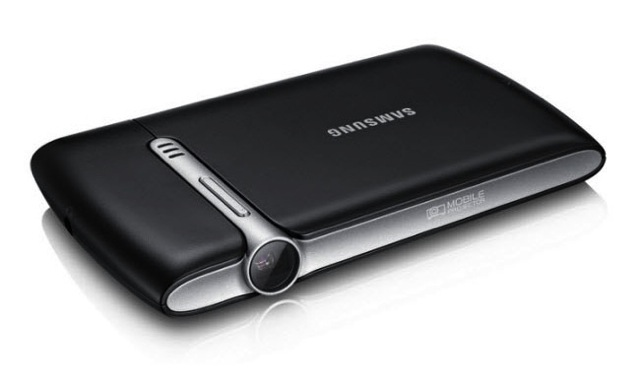 Samsung-Mobile-Beam-Projector Samsung Beam Projector Coming to a Galaxy Near You