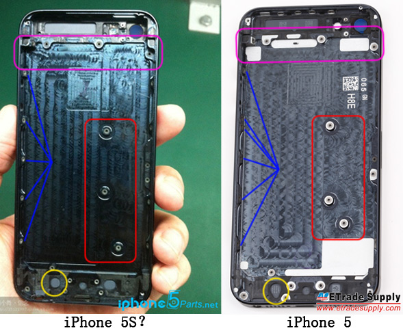 i52 Alleged Apple iPhone 5S Images Have Now Leaked to the Net