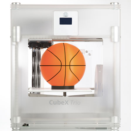cubx-trio-basketball-press 3D Systems Releasing New Larger 3D Printer, the CubeX