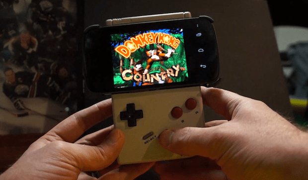 gameboy GameBoy Transformed into Android Remote