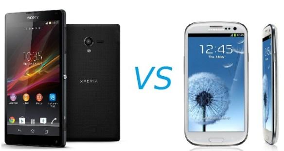 gs3-sony Samsung Galaxy S3 vs Sony Xperia ZL: How Do They Compare?