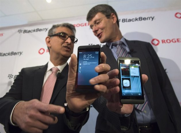 bb10 Blackberry Z10 Breaking Launch Records in the UK and Canada