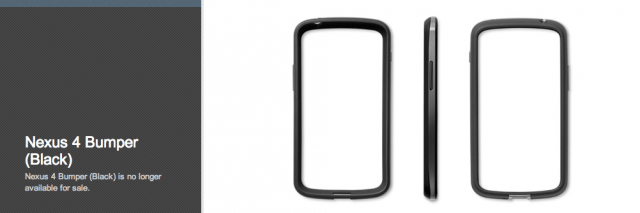 bumper-640x213 Google Discontinues Nexus 4 Bumper Accessory (Update: It's Back)