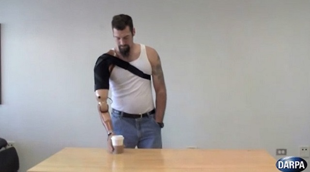 darpa-prosthetic-limbs Muscle-Controlled Prosthetic Limbs That Can Feel (Video)