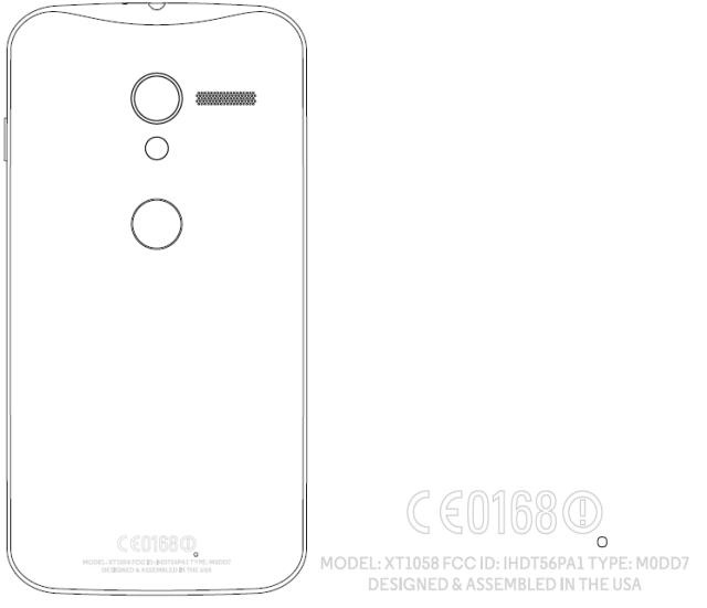 x-phone Motorola XT1058 Shows Up In FCC Filing, Could Be The Rumored X Phone
